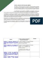 Evaluación y selección del mercado objetivo del proyecto