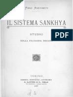 Il Sistema Sankhya - Martinetti