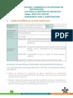 Guia Aprendizaje Plan de Mejoramiento Fase 1 IDENTIFICACIÓN