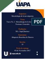 Metodología de La Investigación Angel Jimenez