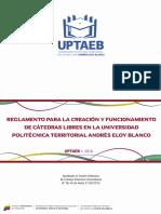 Reglamento de CatedrasLibres