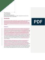 tw  informal report revision