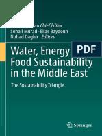 Water, Energy & Food Sustainability
