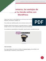 WooCommerce Las Ventajas de Montar Tu Tienda Online Con WordPress