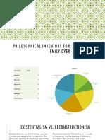 portfolio project 4 philosophy