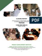 ESP Terminal Report (March 2009)