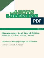 Management Arab World Chapter 12