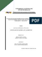 Validación de Procedimientos de Limpieza y Programa Haccp en Empresa Productora de Mantequilla, Margarina y Rellenos