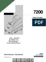 7200 Operator Manual