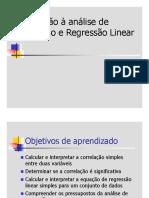 2 - Correlação e Regressão - Statistica e Gretl