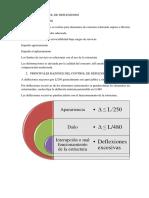 Cálculo y Control de Deflexiones