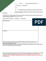 scaffolded lesson activity plan preschool  sept 19 2016 1   2