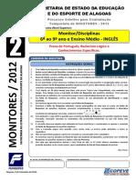 Prova - Monitor-Ingles - Tipo 2