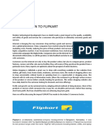 11d00281424 Business Perspective Projet Flipkart