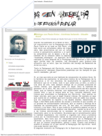 Diálogo Con Paulo Freire - Claudia Korol