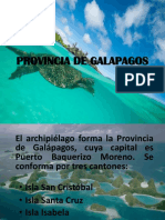Provincia de Galapagos