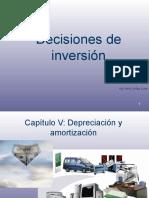 Capítulo N° 5 Depreciación (1)