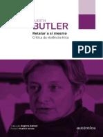 Judith Butler Relatar a Si Mesmo Autêntica Editora 2015