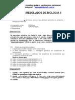 Exercicios Resolvidos Biologia II