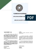 Lista de Flores Fdv - Curso (1)