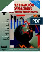 Investigacion de Operaciones en Las Ciencias Administrativas