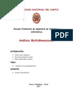 Practica 2 de Analisis Multidimencional