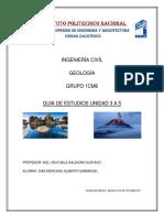 Geologia Unidad 3 a 5