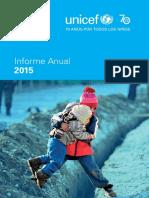 Unicef Annual Report 2015 Spanish Web
