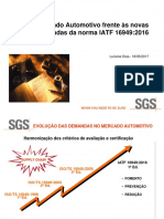 IATF 16949-2016, Apresentação SGS