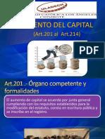 Diapo. Aumento de Capital