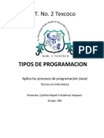 Programaciones CBT
