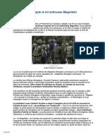 2017-Le Canada Adopte La Loi Antirusse Magnitski