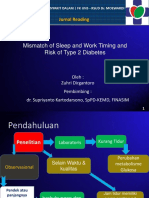 Mismatch of Sleep and Work Timing and Risk of Type 2 Diabetes