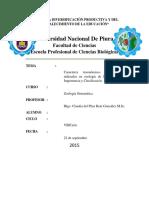 Caracteres Sistemáticos y Taxonómicos Utilizados en Zoología de Invertebrados