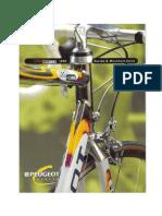Peugeot Teamline Brochure 1998