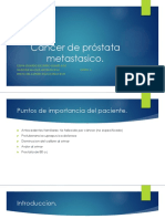 Cáncer de Próstata Metastasico