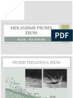 Mekanisme proses erosi