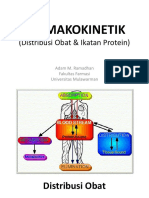1. FARMAKOKINETIKA, Distribusi Obat-Ikatan Protein