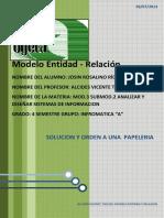 Modelo Entidad y Relacion-Alcides