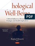 Psychological Well Being