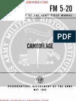 1968 US Army Vietnam War Camouflage 106p