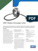 SKF Motor encoder units