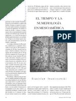 El Tiempo y La Numerlogia en Mesoamerica