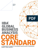 IIBA Global BusinessAnalysis CoreStandard