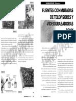 Fuentes Conmutadas en Tv y Vhs Sony #1