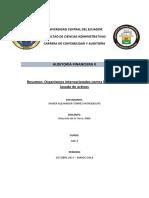 1.7 Resumen Organismos Internacionales