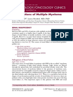 Complications of Multiple Myeloma