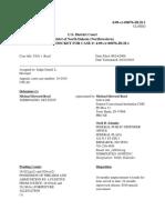 4 09-Cr-00076-DLH-1 Michael Howard Reed Docket