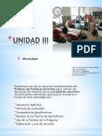 Unidad 3 Microclases