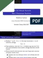 2. Persamaan Nonlinier PRINT